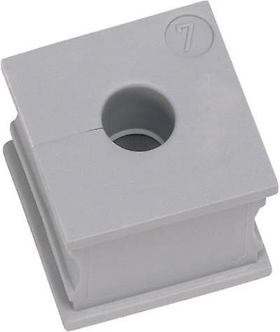 Cable grommet slotted Terminal Ø (max.) 5 mm Elastomer