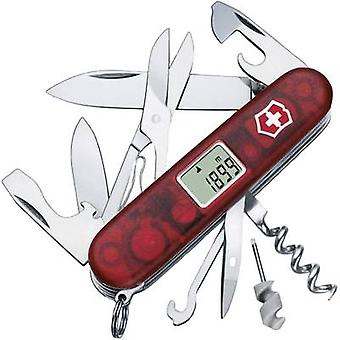 Swiss army knife + digital display No. of functions 25 Victorinox