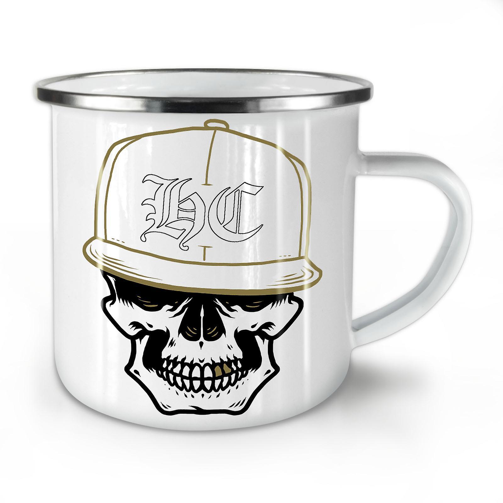 Enamel Coffee Skull Mug10 Gamer OzWellcoda New Whitetea Swag 0knOPw