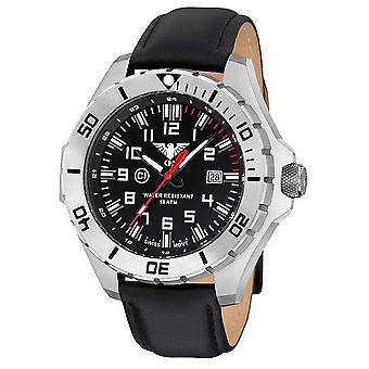 KHS watches mens watch steel KHS country leader. LANS. L
