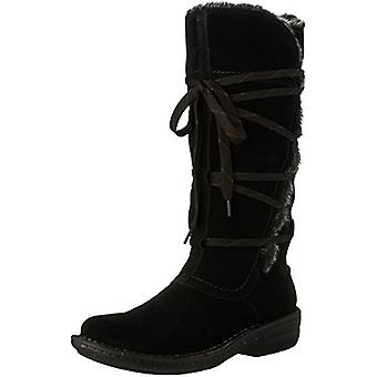 CLARKS Womens Avington Hayes Leather Closed Toe Mid-Calf Cold Weather Boots