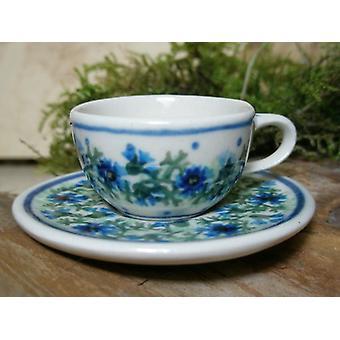 Cup med tallerken, miniatyr, tradisjon 7, Bunzlauer keramikk - BSN 6930