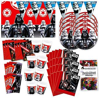 Star Wars original party box 57-teilig decoration Darth Vader Star Wars party package