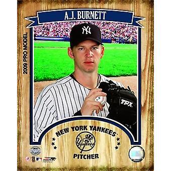 AJ Burnett 2009 Studio Portrait Photo Print