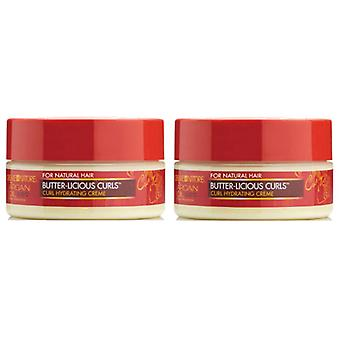 Creme of Nature Argan Butter-Licious Curls 8oz (2-PACK)