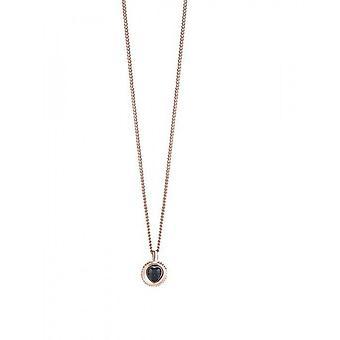 Guess ladies kedja halsband rostfritt stål Rosé guld UBN21536