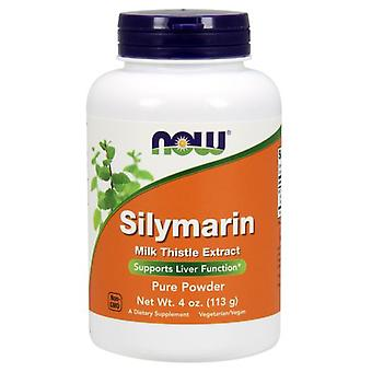 Now Foods Silymarin Milk Thistle Extract Pure Powder 113 gr
