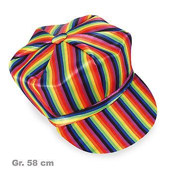 Mütze Rainbow Regenbogen Schirmmütze Clown