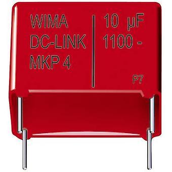 WIMA DC-LINK MKP4 1 dator MKP tunn film kondensator radiella leda 75 µF 800 Vdc 20% 48,5 mm (L x b x H) 56 x 37 x 54 mm