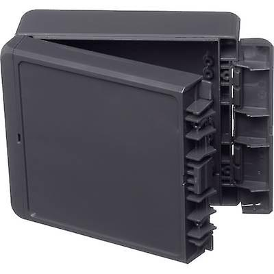 Bopla Bocube B 141306 ABS-7024 Wall-mount enclosure, Build-in casing 125 x 151 x 60 Acrylonitrile butadiene styrene Graphite grey (RAL 7024) 1 pc(s)