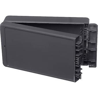 Bopla Bocube B 221306 ABS-7024 Wall-mount enclosure, Build-in casing 125 x 231 x 60 Acrylonitrile butadiene styrene Graphite grey (RAL 7024) 1 pc(s)