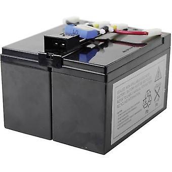 UPS battery Conrad energy replaces original battery RBC48 Suitable for model D
