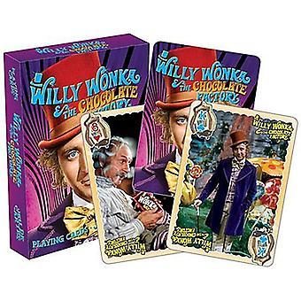 Willy Wonka (Gene Wilder) Set Of 52 Playing Cards (+ Jokers) (52477)