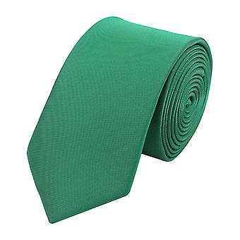 Tie tie tie tie narrow 6cm green uni Fabio Farini