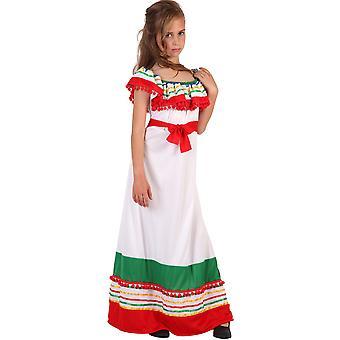 Barnkläder för mexikanska klänning för flickor