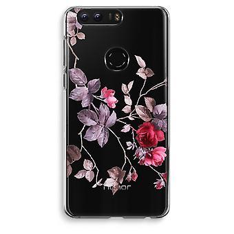 Honor 8 Transparent Case (Soft) - Pretty flowers