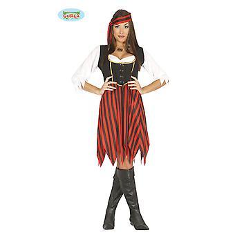 Pirate Costume Pirate Costume Seeräuberin ladies one size