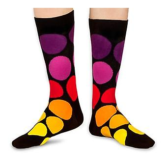 Carousel Down luxury combed cotton crew socks. Made by Ballonet