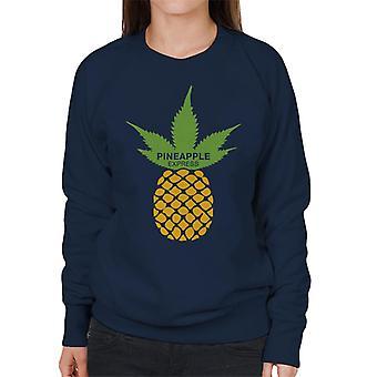 Pineapple Express MinimalWomen's Sweatshirt