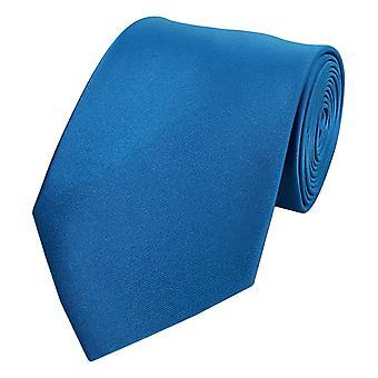Knytte slipset slips slips blå 8cm ren Fabio Farini