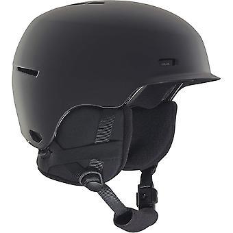 アノンのフラッシュ ジュニア ヘルメット - ブラック
