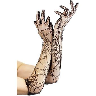 Smiffy's Lace Gloves