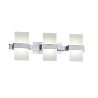 Trio Lighting Platon Modern Brushed Aluminium Aluminium Wall Lamp