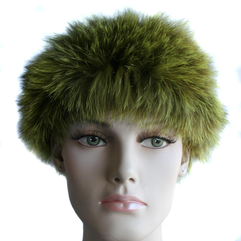 Waooh - Fur - Bandana racoon fur