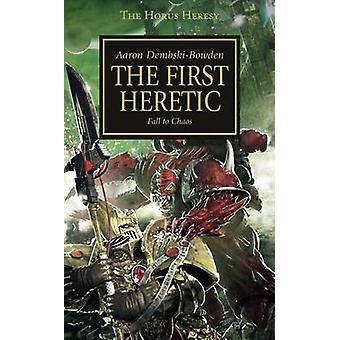 Le premier hérétique par Aaron Dembski-Bowden - livre 9781844168842