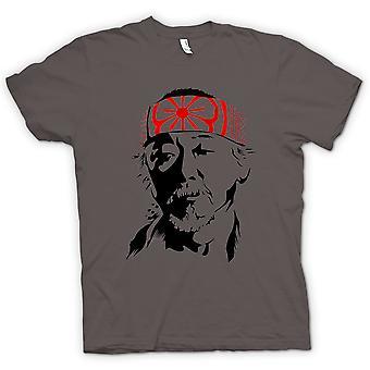 Karate Kid heer Miyagi - portret T Shirt