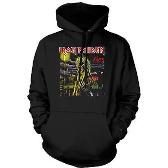 Mens Hoodie - Iron Maiden - Killers albumkunst