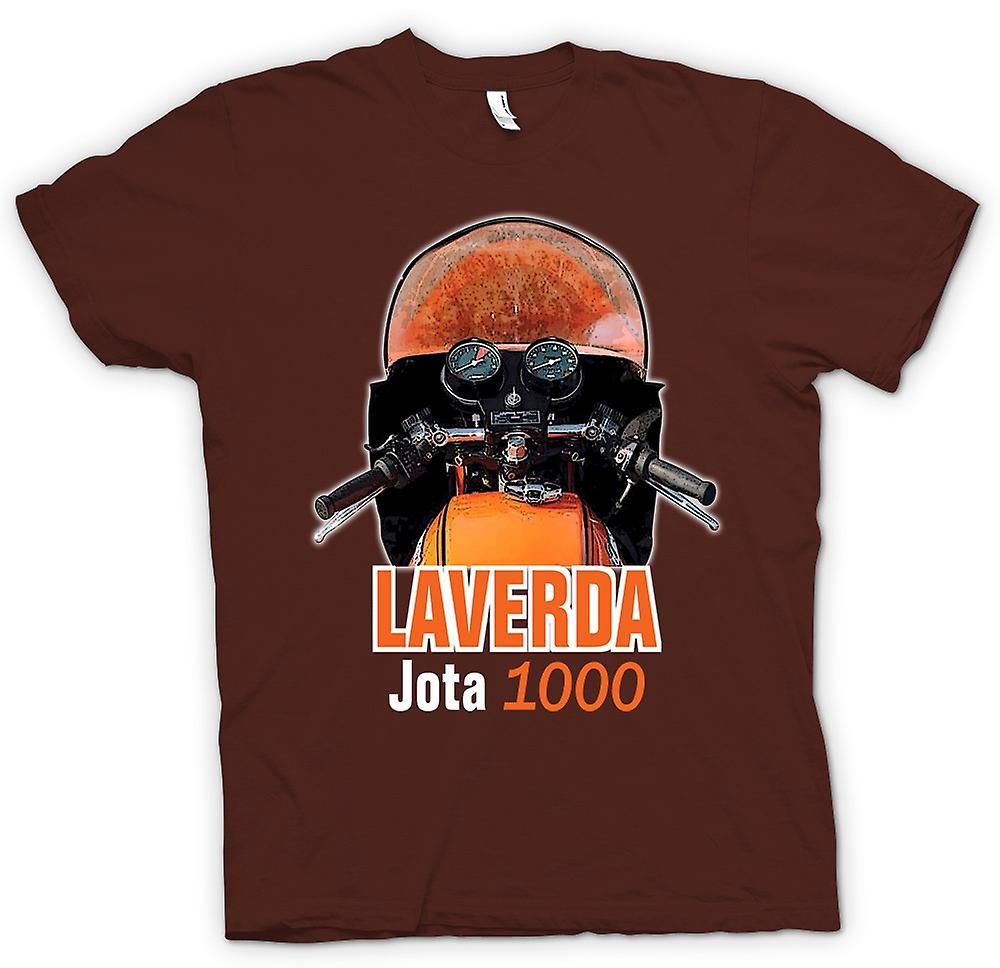 Hombres camiseta-bicicleta clásica Laverda Jota 1000