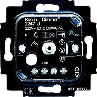 Busch-Jaeger insérer variateur Duro 2000 SI linéaire, Duro 2000 SI, Reflex SI linéaire, réflexe SI, Solo, Alpha Nea, Alpha exclusiv, futur linéaire, Impuls, plaine