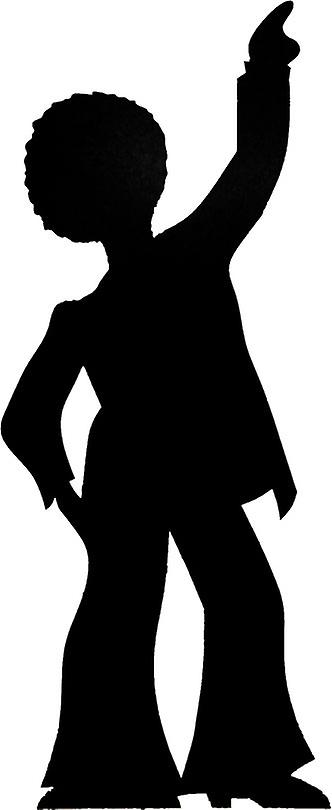 Disco Dancer (Party Prop) - Lifesize Cardboard Cutout / Standee