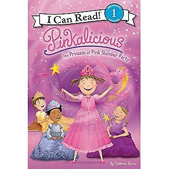 Różowińska: Princess Pink Slumber Party (może czytać książki 1) (czytam Różowińska - poziom 1 (jakości))