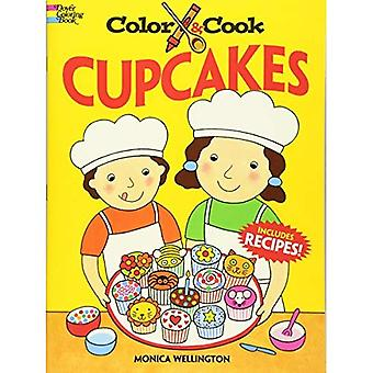 Color and Cook Cupcakes (Dover Coloring Books)