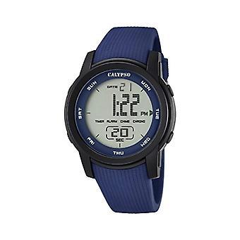 Calypso K5698/2-Unisex wristwatch, plastic, colour: Blue