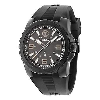 Timberland, Watson-analógico reloj de pulsera, banda de silicona, negro