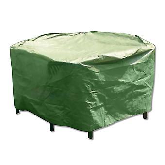 Bare direkte Patio satt COVER - runde - vanntett værbestandig utendørs møbler Protector