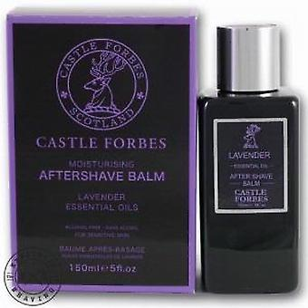 Castle Forbes lavendel æterisk olie Aftershave balsam 150ml
