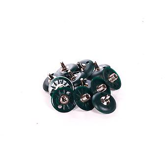12 x Replacement Soft Ground Steel Screw In Cricket Spikes