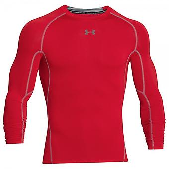 Under Armour HG of compression long sleeve shirt men's Red 1257471