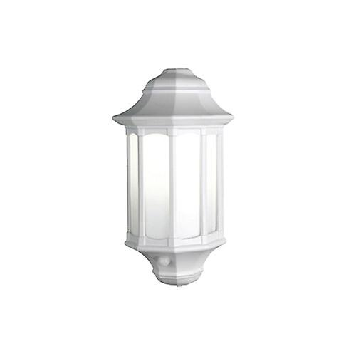 Elstead AZ/LE8 WHITE Azure Traditional Low Energy Security Wall Lantern with PIR