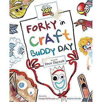 Toy Story 4: Forky i Craft Buddy dag