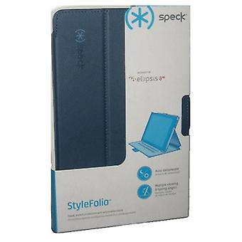 Speck StyleFolio Case Verizon Ellipsis 8 HD - Marine Blue/Twilight Blue