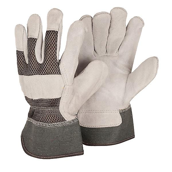 Briers Menfts Large Grey Rigger Gloves - Twin Pack