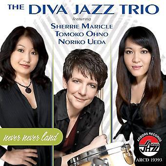 Diva Jazz Trio/Maricle - Never Never Land [CD] USA import
