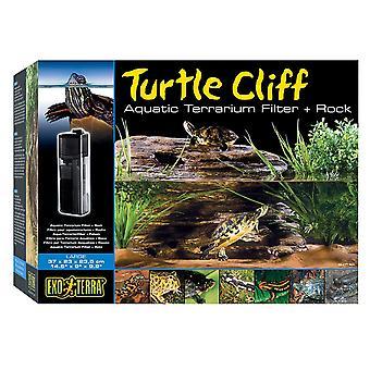 Exo Terra Turtle Cliff & Filter-grande