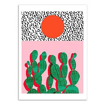 Konst-affisch-Spazz-Wacka 50 x 70 cm