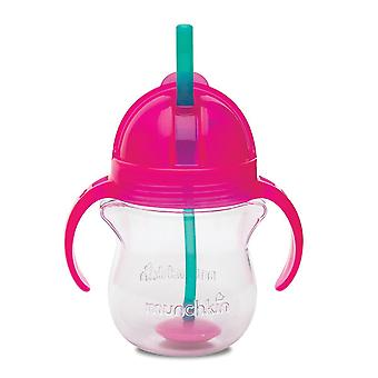 Munchkin Click Lock Tip & Sip Straw Cup 200ml - Pink